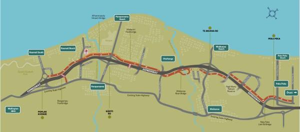 How to use the Expressway | NZ Transport Agency Kapiti Coast Map on king county map, southland map, fiordland map, lake tekapo map, rotorua map, palmerston north map, milford sound map, kaikoura map, waikato map, cook strait map, invercargill map, hastings map, island map, cambridge map, queenstown map, banks peninsula map, napier map, lyttelton map, akaroa map, dunedin map,